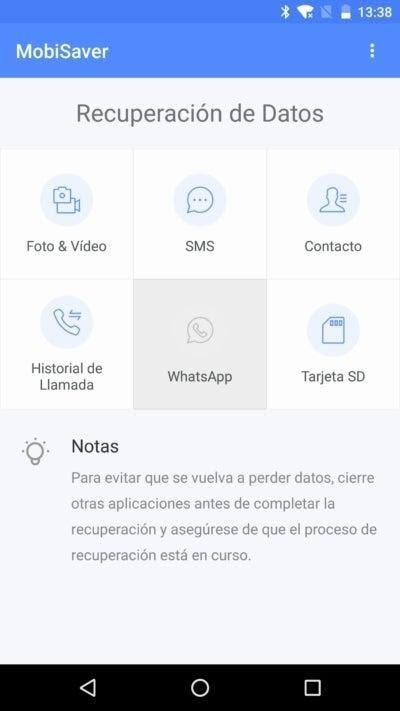 Aplicación Para Recuperar Fotos Y Videos Borrados