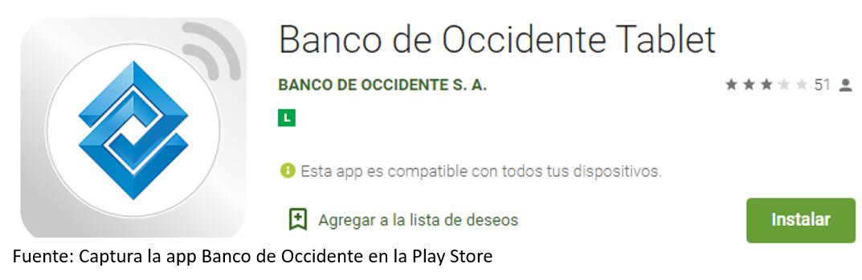 App Banco De Occidente Para Android