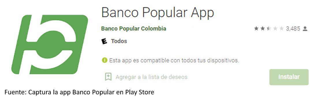 App De Banco Popular Para Android